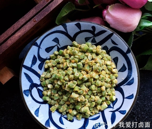 清香 粉蒸豇豆,简单易做,清香扑鼻