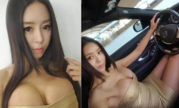 韩国最美车模爆红ins,因身材丰腴惹争议 明星图片 第5张