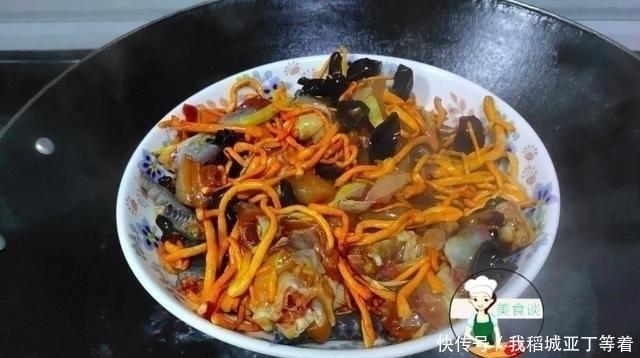 虫草花|这菜,蒸一蒸就好,营养好吃不上火,一周吃两次,提高身体免疫力